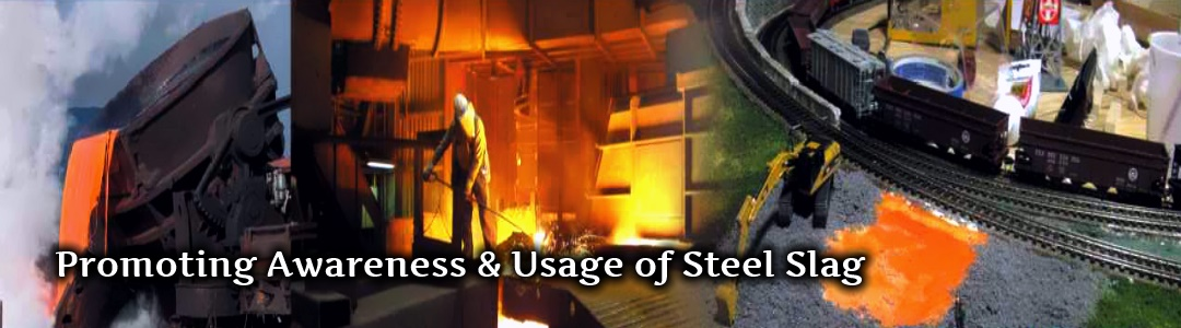 Promoting use of Steel slag in India